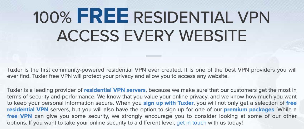 Por Qué Elegir Tuxler VPN