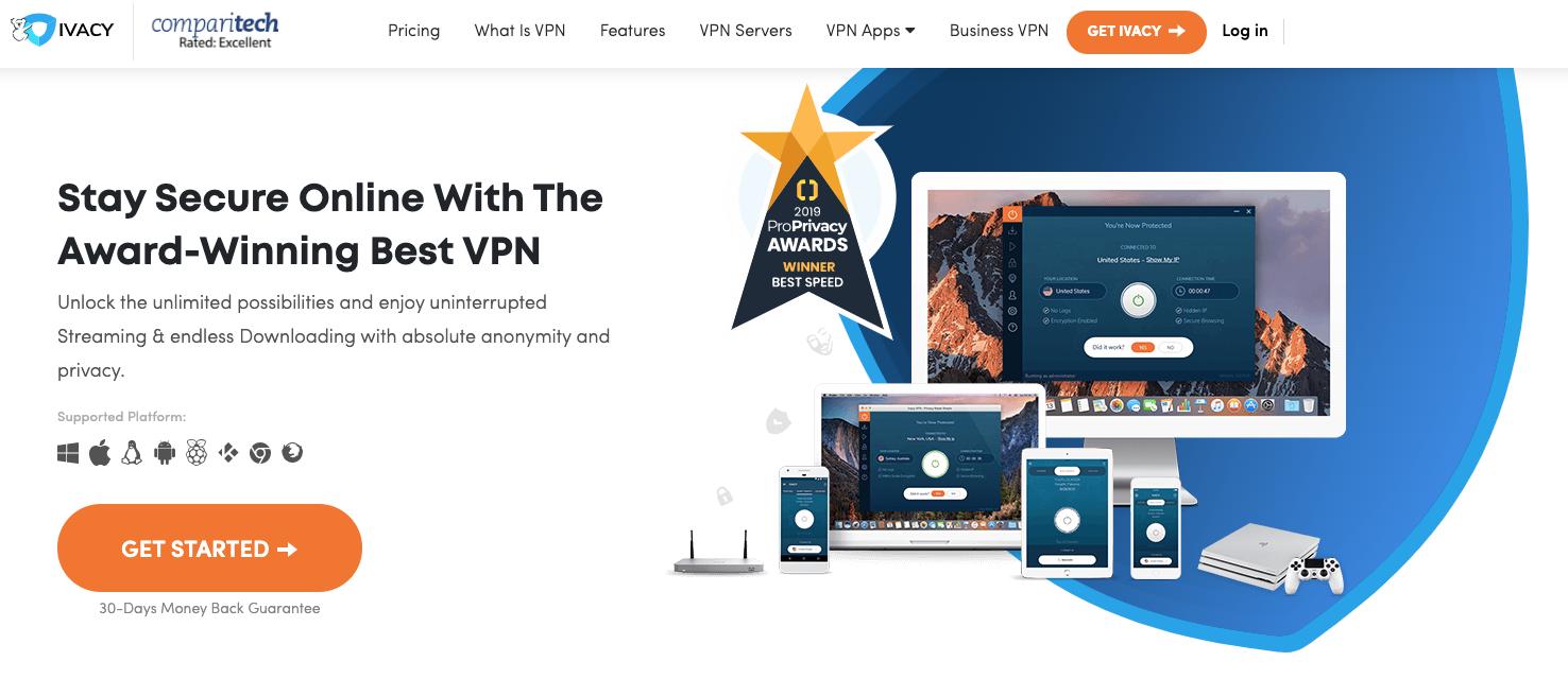 Por Qué Elegir Ivacy VPN