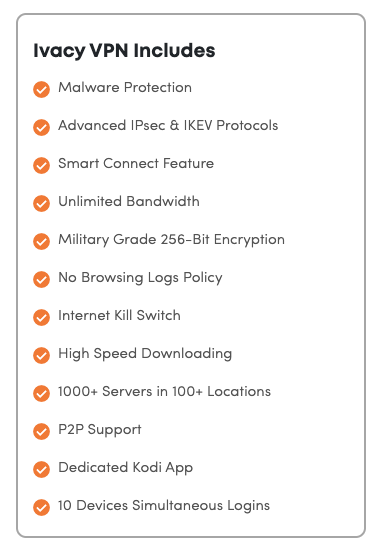 This feature VPN provider