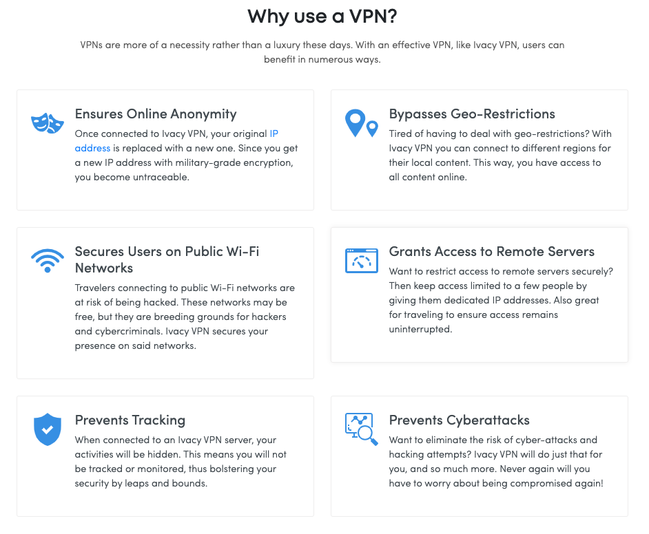 Why use a VPN?