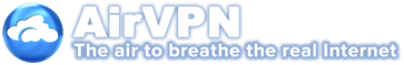 logotipo Airvpn