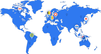 countries available to navigate and change ip SaferVPN.