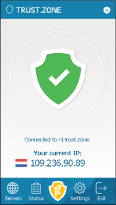 Dispositivos disponibles para configurar Trust Zone VPN