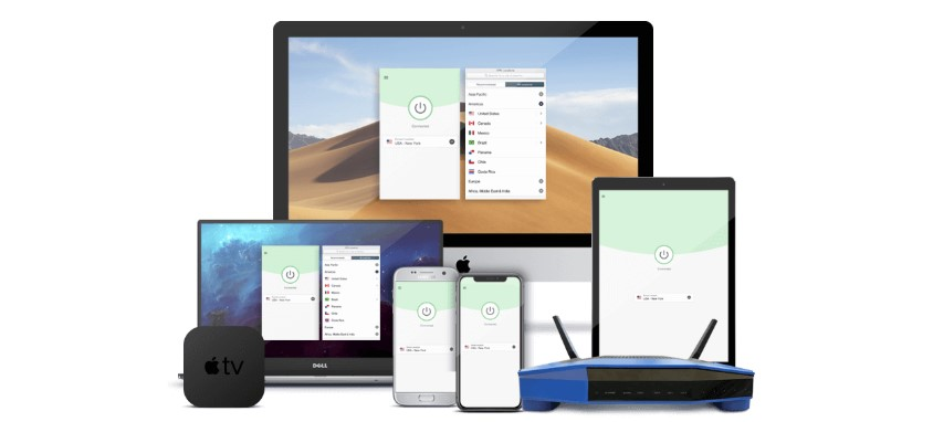obtenga privacidad en todos los dispositivos