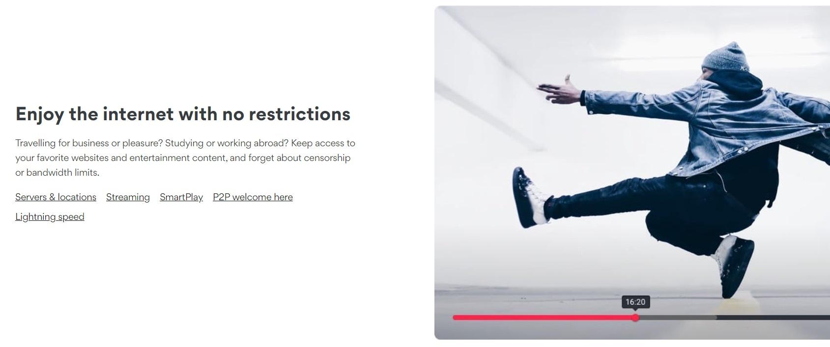 NordVPN: Disfruta de conexión a internet sin límites