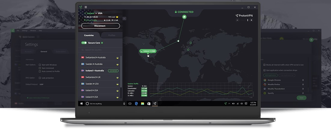 ProtonVPN VPN is one of the best known worldwide