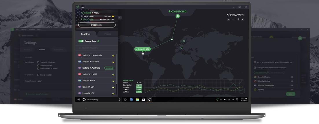 ProtonVPN VPN является одним из самых известных во всем мире