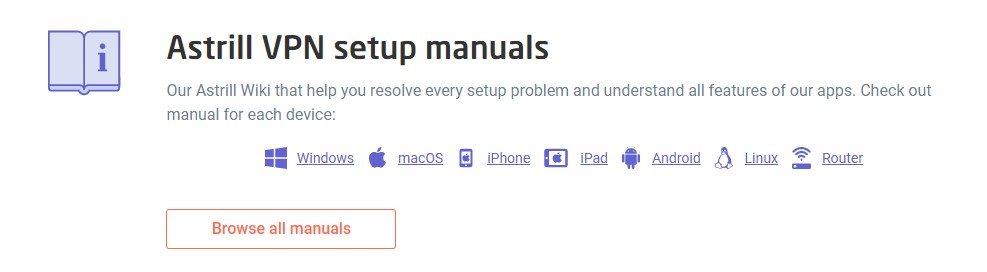 Astrill VPN ha adecuado un equipo de trabajo para vosotros que se encuentra disponible las 24 horas