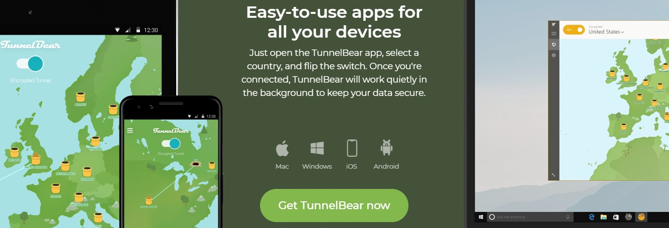 caracteristicas de tunnel bear vpn