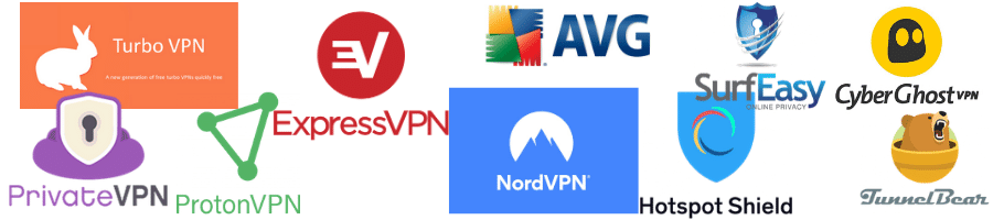 Comparison of Best VPN services free.