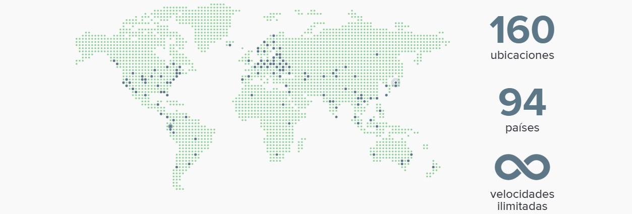 Express VPN tiene la capacidad de conectarse en, al menos, 3.000 servidores.