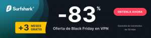 Black Friday Surfshark Oferta
