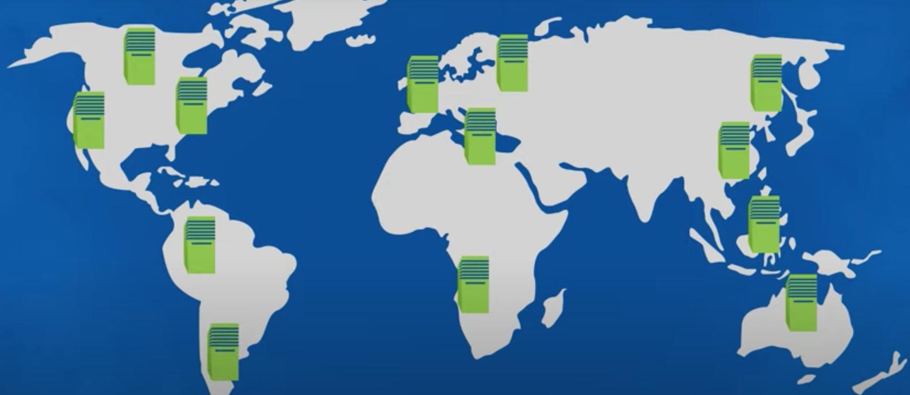 , te permite conectarte a 35 servidores en más de 12 países aproximadamente