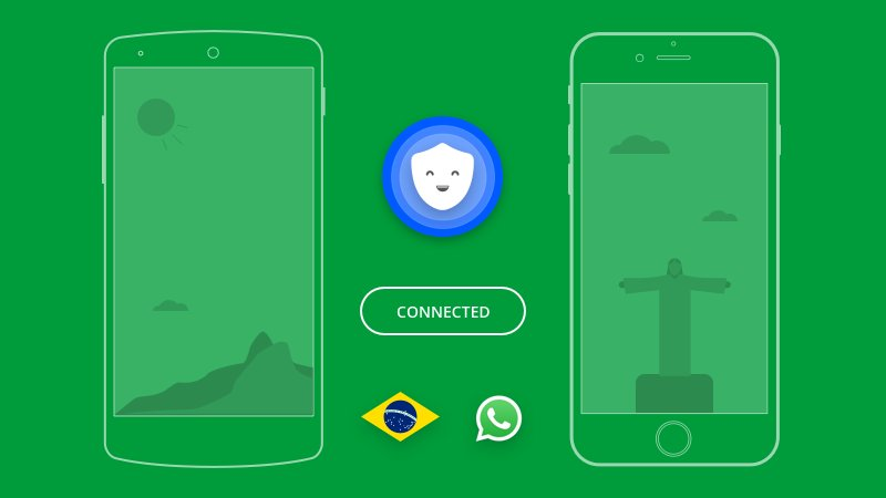 Disfruta de un VPn para Brasil para navegar seguro.
