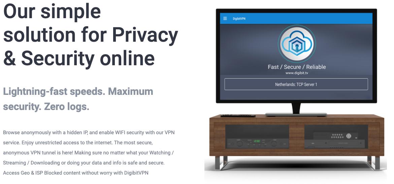 Ce VPN permet une connexion sécurisée avec cryptage