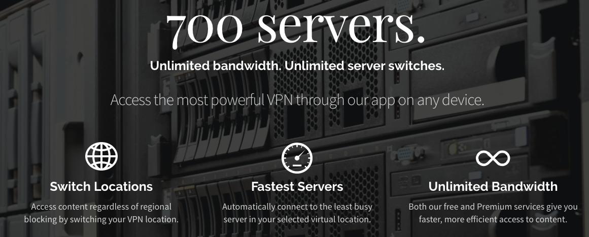tiene más de 700 servidores que se encuentran ubicados en 10 países de todo el mundo