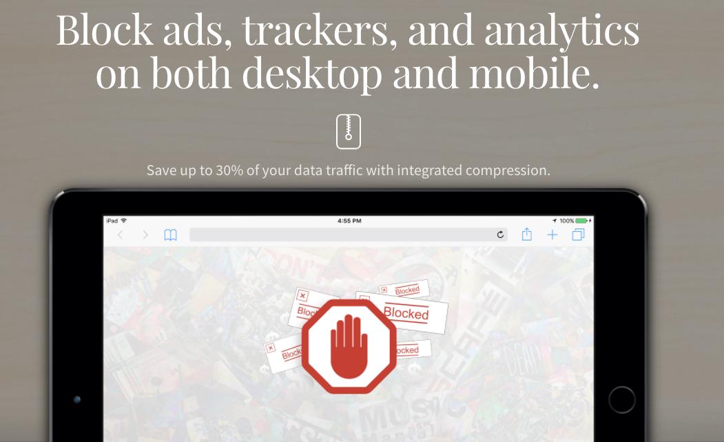 DotVPN ofrece muchas funciones como bloqueo de anuncios