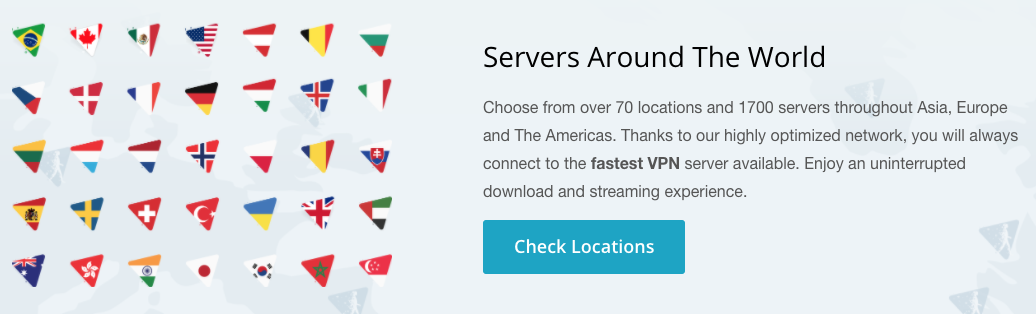 Les pays dans lesquels disponibles VPN Hide.Me
