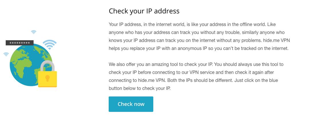 Hide.Me VPN se esmera en brindarte seguridad