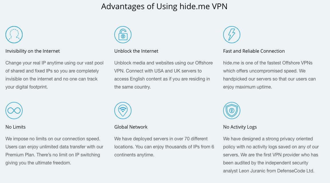Pourquoi choisir VPN Hide.Me
