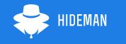 Hideman logo