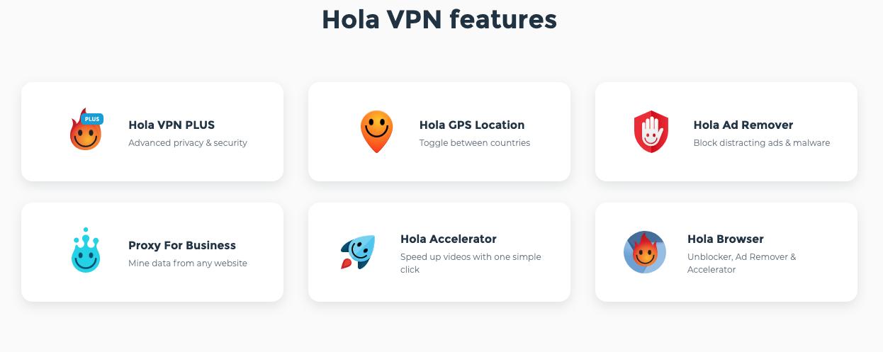 características que debes tener en cuenta Hola VPN