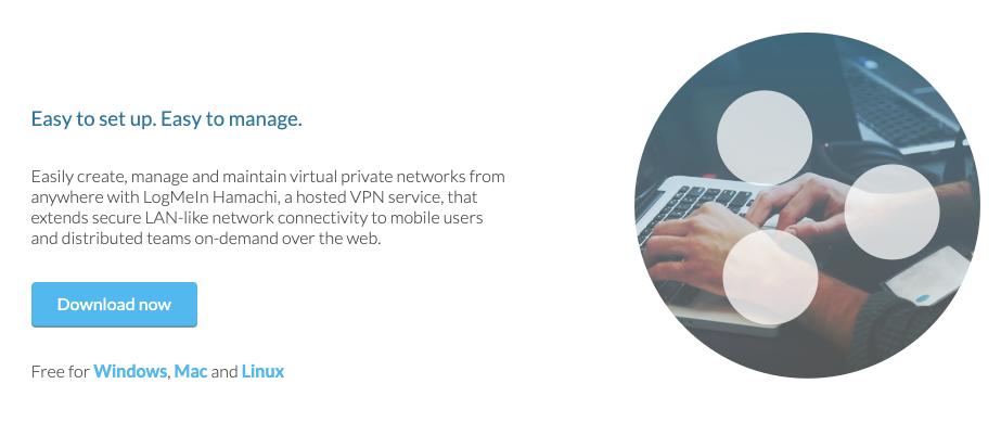 Logmein Hamachi es un VPN muy sencillo de usar