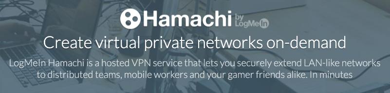 Logmein Hamachi es una de las plataformas preferidas de los jugadores de videojuegos