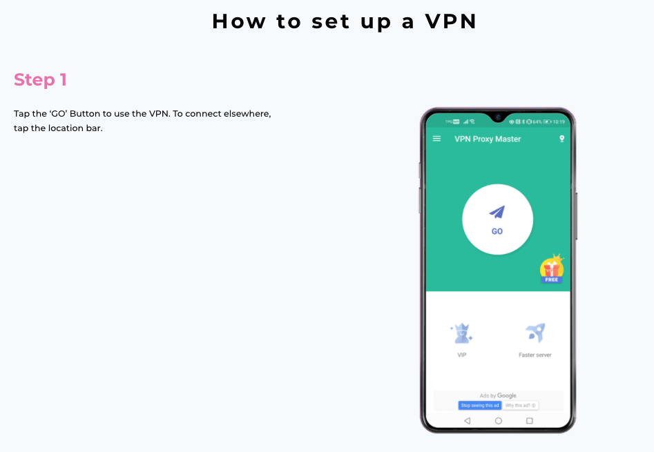 How to install VPN Proxy Master in Android