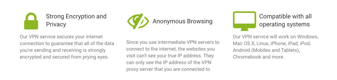 Myip VPN met IP-adressen, het heeft een efficiënt encryptiesysteem