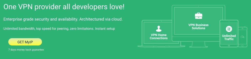 Este VPN cuenta con un servicio eficiente para cambiar de IP.