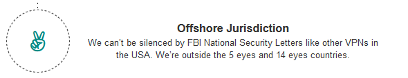 ley fuera jurdicción FBI policia vpn