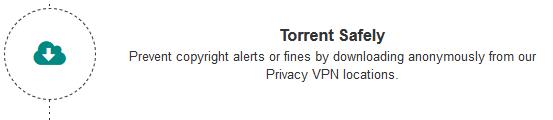 torrente protecção critério de segurança VPN