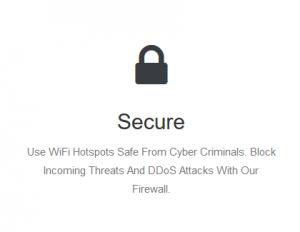 blackVPN criptografado proteção de bloqueio de segurança VPN