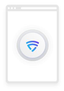 logo VPN nieograniczonej cyfrowego życia