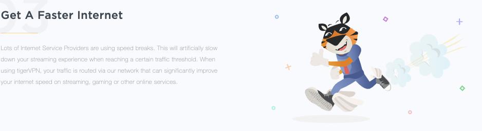 é uma VPN que oferece uma velocidade rápida enquanto navega na Internet