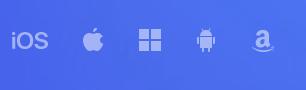 Ele suporta todas as plataformas operacionais mais usados