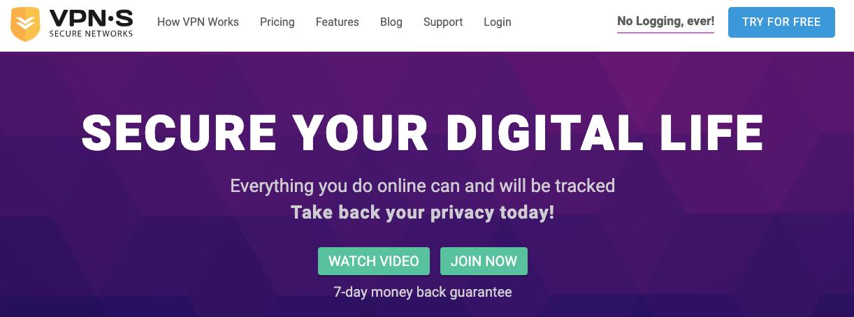 Por Qué Elegir VPNSecure
