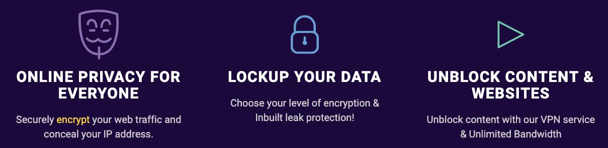 Seguridad de VPNSecure