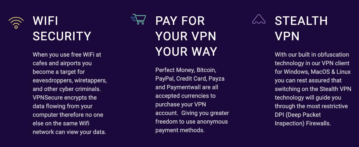Servicios que ofrece para los usuarios.
