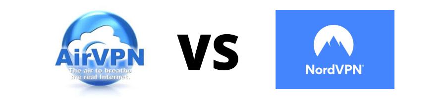 Un AirVPN comparant vs NordVPN peut dire qu'ils sont des réseaux privés virtuels.