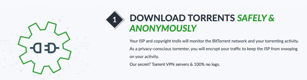 Descargar Torrent de manera anónima con ibVPN