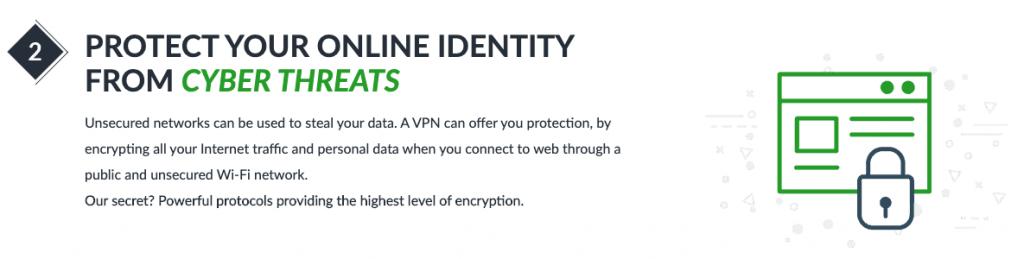 Seguridad de ibVPN