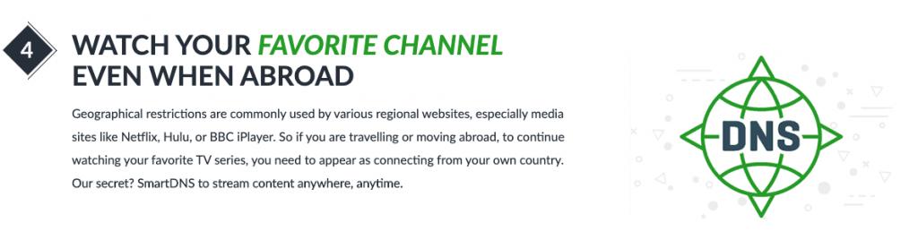 Con ibVpn podrás tener acceso a Netflix desde cualquier sitio sin ningún bloqueo geográfico
