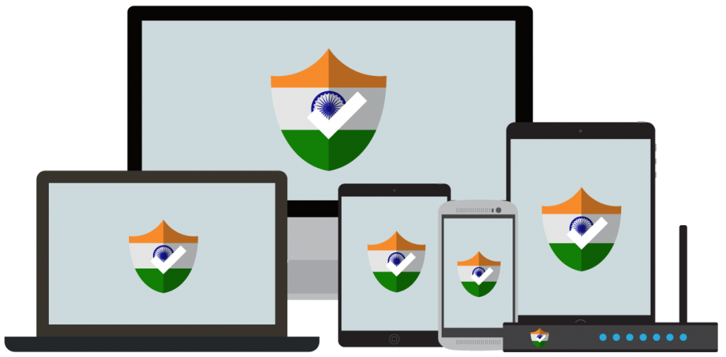 un VPN para India te ofrece toda la seguridad