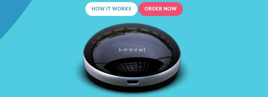 Keezel es portable y lo podrás llevar de un lado a otro