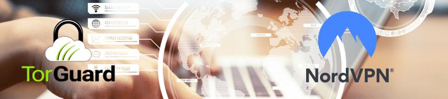 NordVPN Vs TorGuard sont parmi les meilleurs VPN sur le marché aujourd'hui.