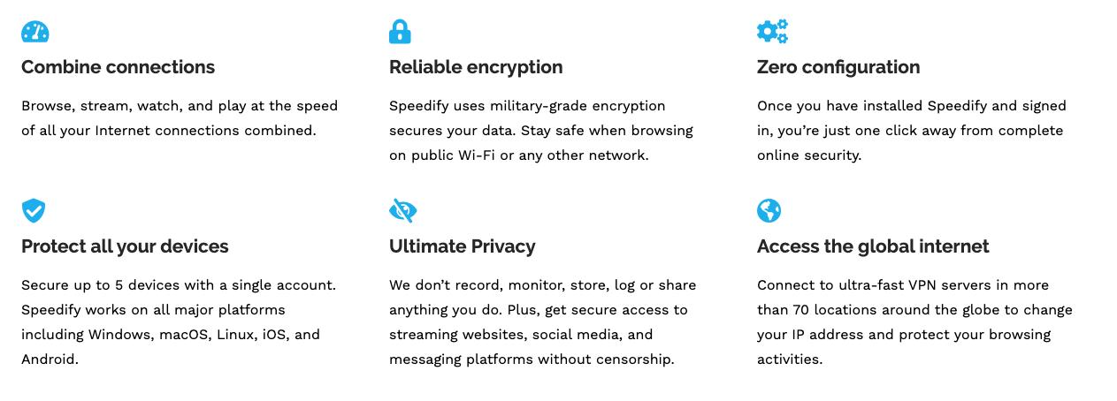Usa encriptación de grado militar para proteger los datos
