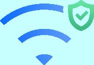 Bezprzewodowy dostęp do bezprzewodowego kompleksowe pokrycia VPN