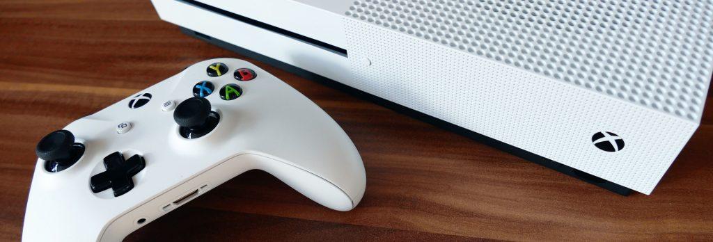 Consola Xbox lista para conectar a un VPN.